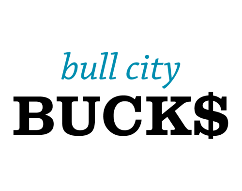 Bull City Bucks Text Logo