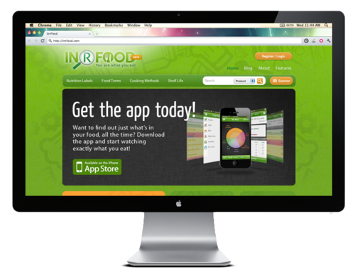 INR Food – Desktop