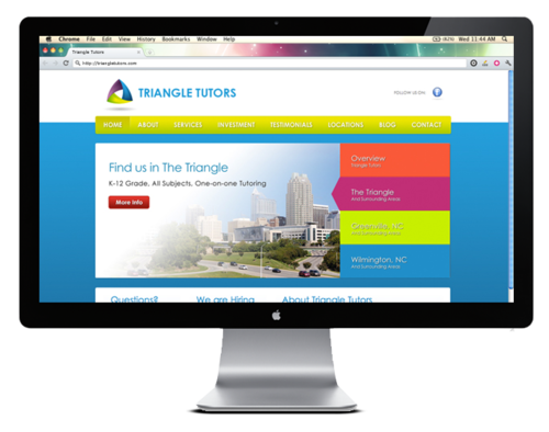Triangle Tutors – Desktop